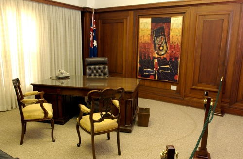 The Speaker's office.